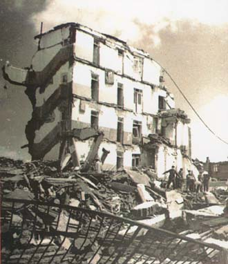 July 28, 1976 Tangshan City, China 7.8 magnitude earthquake